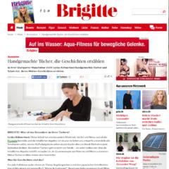 KÜHNERTOVÁ bei BRIGITTE — von Hand gefertigte Tücher, die Geschichten erzählen