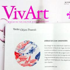 Kühnertová Manufaktur bei Vivart –Magazin für Kultur und Lebensart
